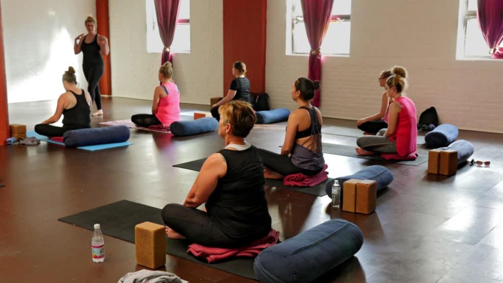 Women at Yoga